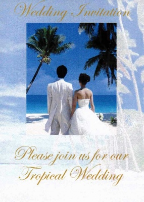 Far Away Wedding Invitation